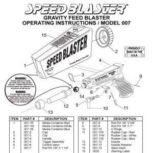SpeedBlaster® OEM Parts